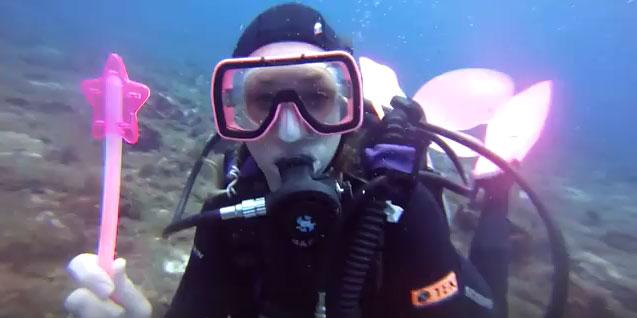SCUBA Diving Fairy