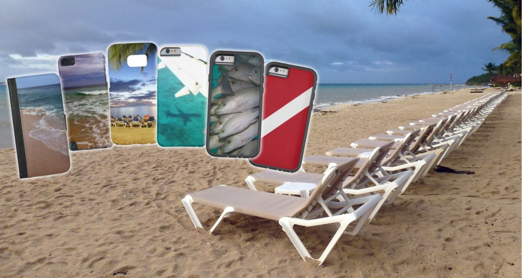 beach gift phone cases