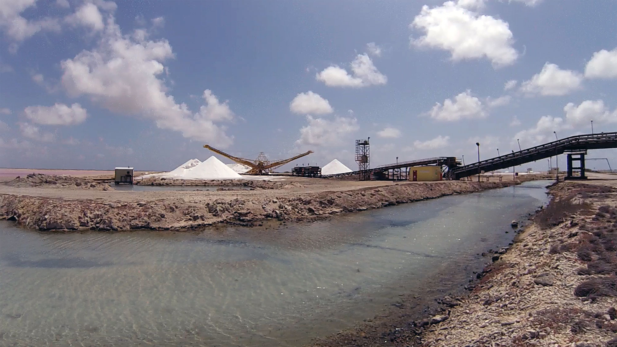 The salt pier