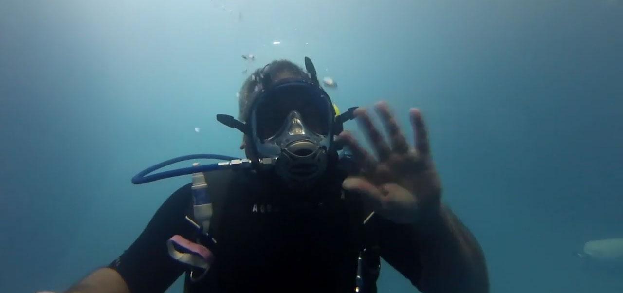 Scuba Diving Full Face Mask