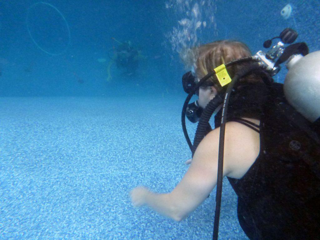 Confident Scuba Diver
