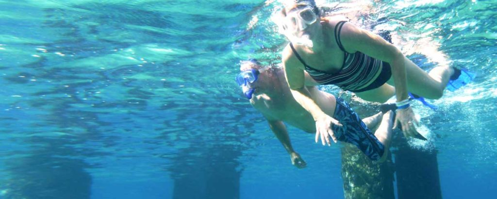 Snorkel & Diving in the ocean