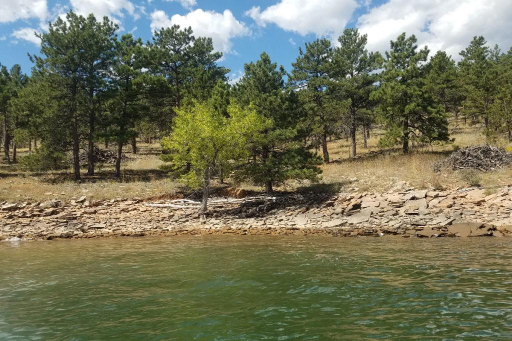 Sauger Hill Dive Site Carter Lake Berthoud, Colorado