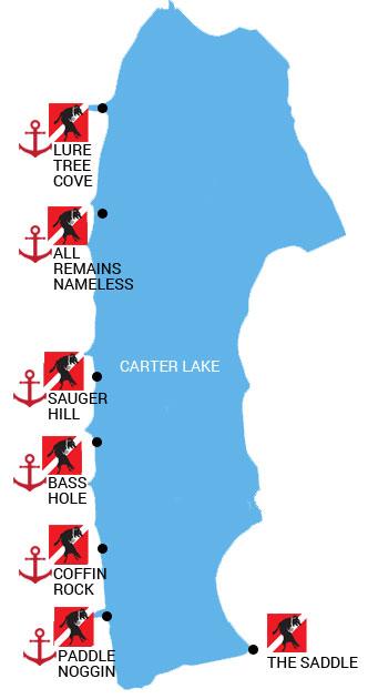Carter-Lake-Dive-Sites